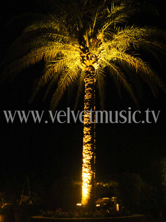Faade up lighting mallorca event light rental majorca home aloadofball Gallery